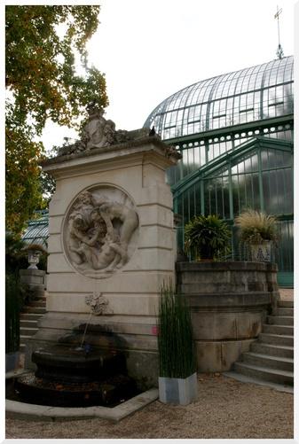 Paris. Jardin des serres d'Auteuil. 2