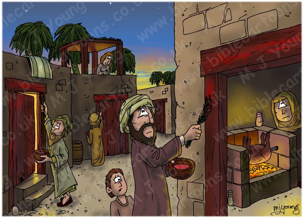 Exodus 12 - The ten plagues of Egypt - First Passover