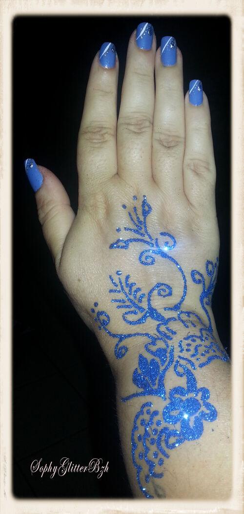 Blue loco