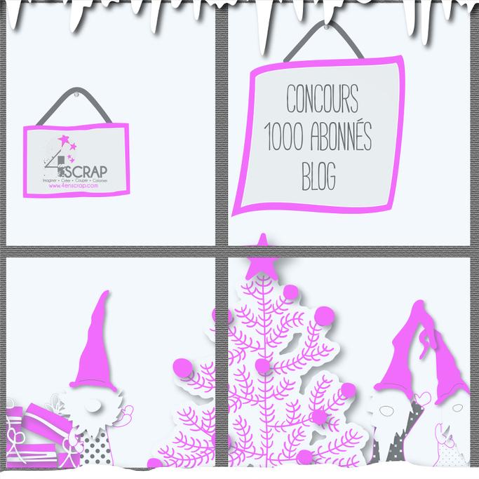 Image Concours 1000 abonnés Blog