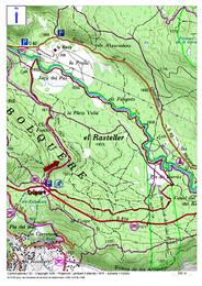 Les Berges de la Têt depuis Les Estanyols (Bolquère)