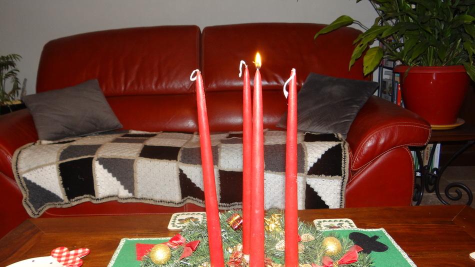 "Noël ""Tradition des 4 Bougies"""