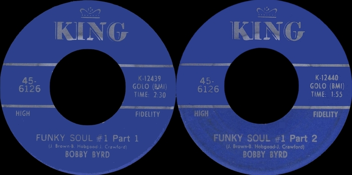 "Bobby Byrd : CD "" Funky Soul The Complete Singles 1963-1969 "" SB Records DP 125 [ FR ]"