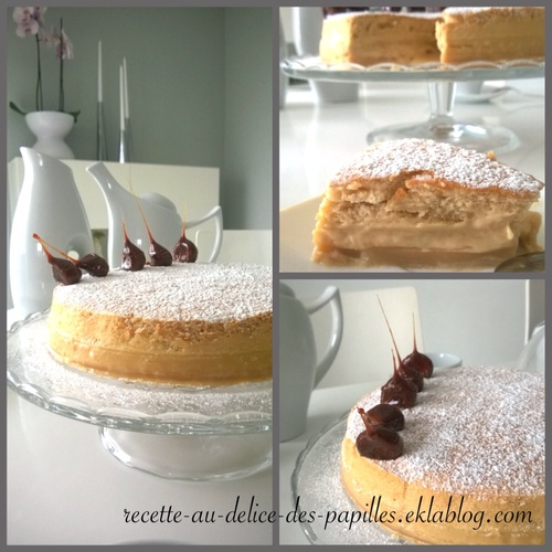 Recette Gâteau magique au caramel beurre salé