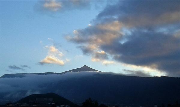 Avouez que le Mont Teide est beau ...