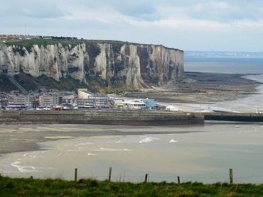 Le Tréport - Sa falaise et son finiculaire