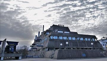 Un bâtiment de concentration pour animaux de laboratoires ...