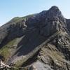 Du sommet du pic de Peyrelue (2441 m), l'Ouradé