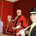 Juin 2007 : réception par le Mayor of Charnwood