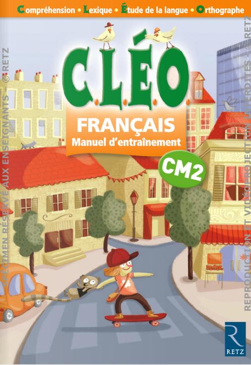 Corrections Cleo Cm1 Et Cm2 Cartable Ouvre Toi