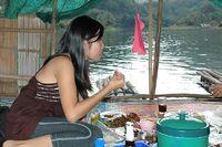 Repas au fil de l'eau