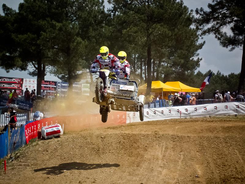 Championnat du monde 2013 de side car cross à iffendic (75)