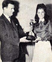Printemps 1968 : Trophée du journal Billboard