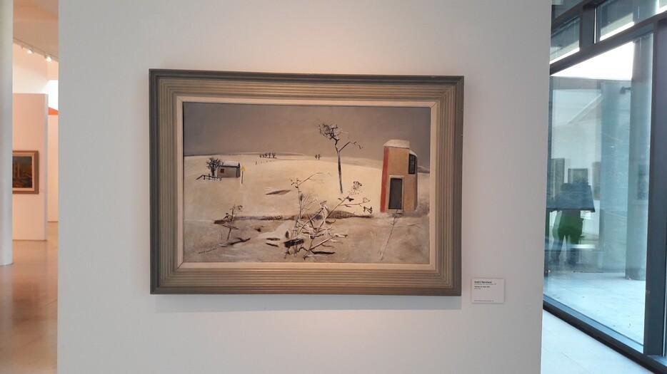 André Marchand - Paysage De Neige (1940) Musée Des Beaux-Arts De Nancy