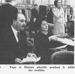 03 novembre 1964 : Sheila présente sa collection de mode. MAJ !
