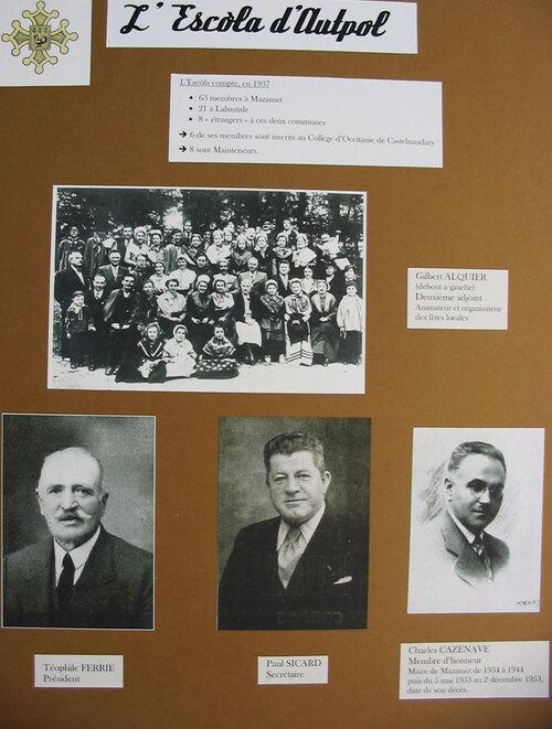 Expositions en prêt Escola d'Hautpoul