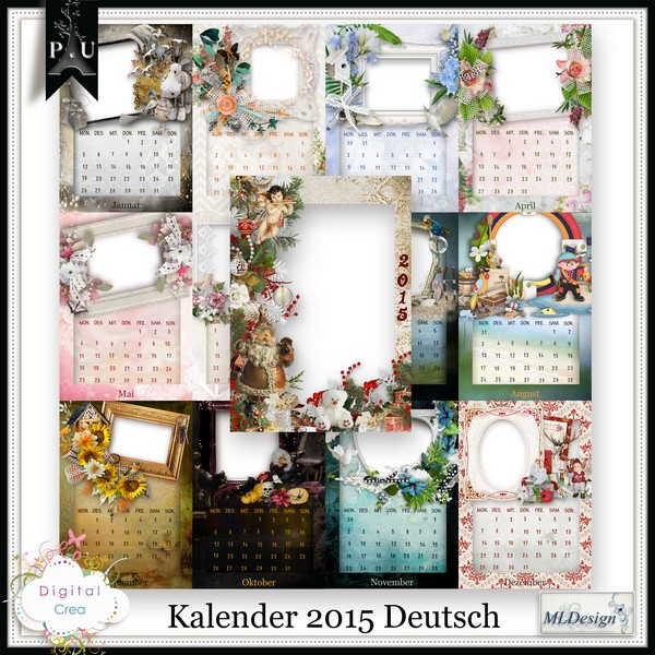 Calendriers 2014 by ML Designs