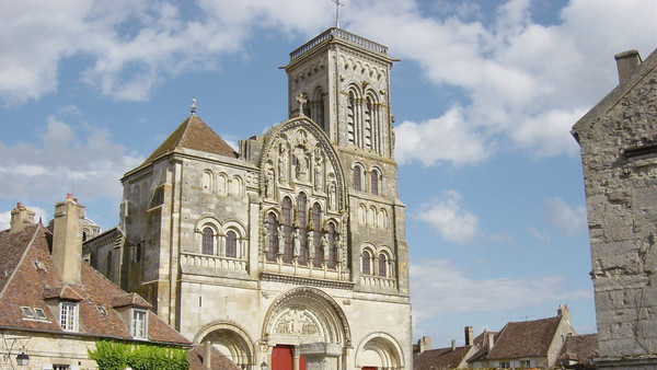 La basilique de Vézelay.