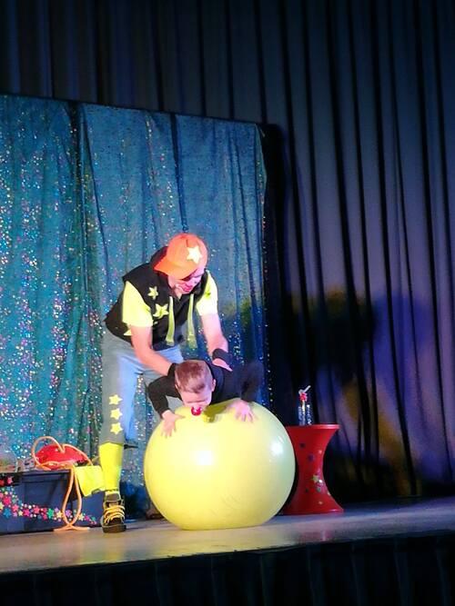 Le spectacle de clown