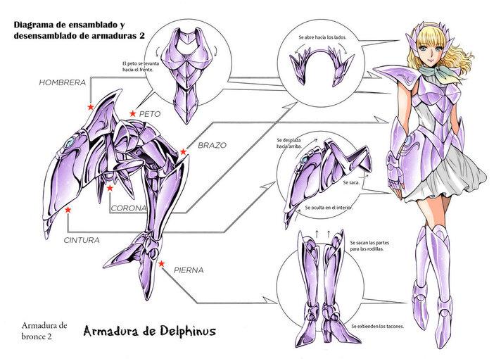 VII - Armure du Dauphin (Delphinus Cloth)