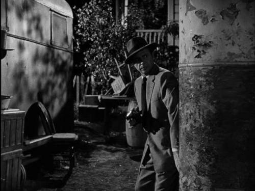 L'implacable, Cry danger, Robert Parrish,  1951