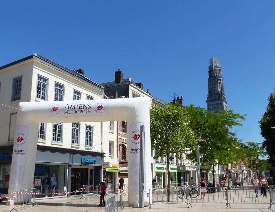 Sous le soleil, le 25 mai à Amiens