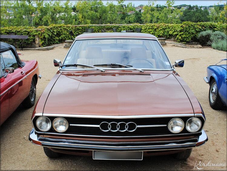 Photo AUDI 100 Coupé S (collection)
