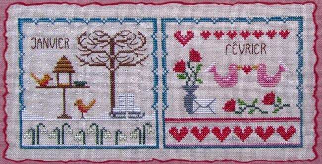 Little dove's year février
