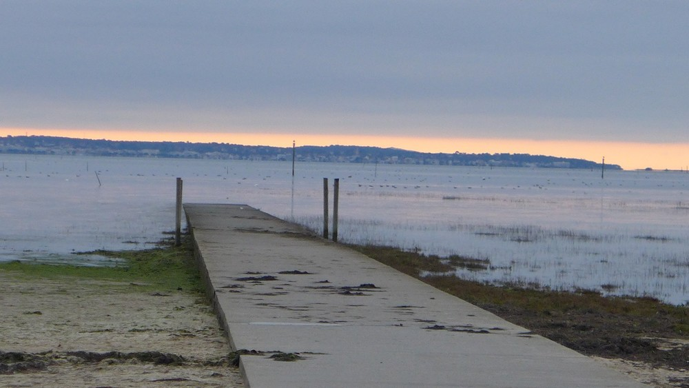 Ciel du 24 décembre 2017 au-dessus du Bassin d'Arcachon...