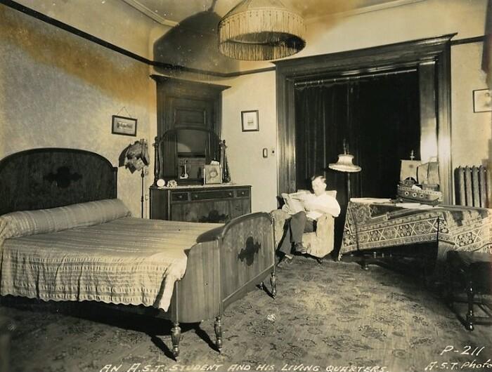 Chambres d'étudiants style vintage à l'étranger