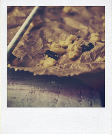 Mousse au chocolat au lait cookie dough