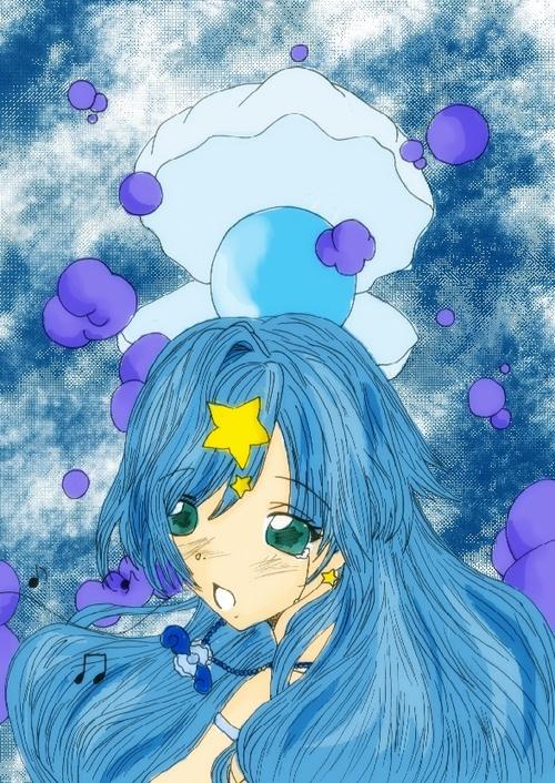 Perle bleue