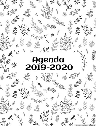 "Un agenda fait ""maison"" Version 2019-2020"