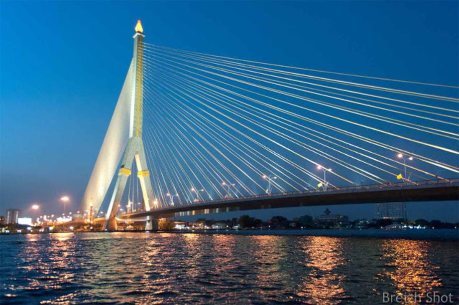 Chao Phraya pont Rama VIII