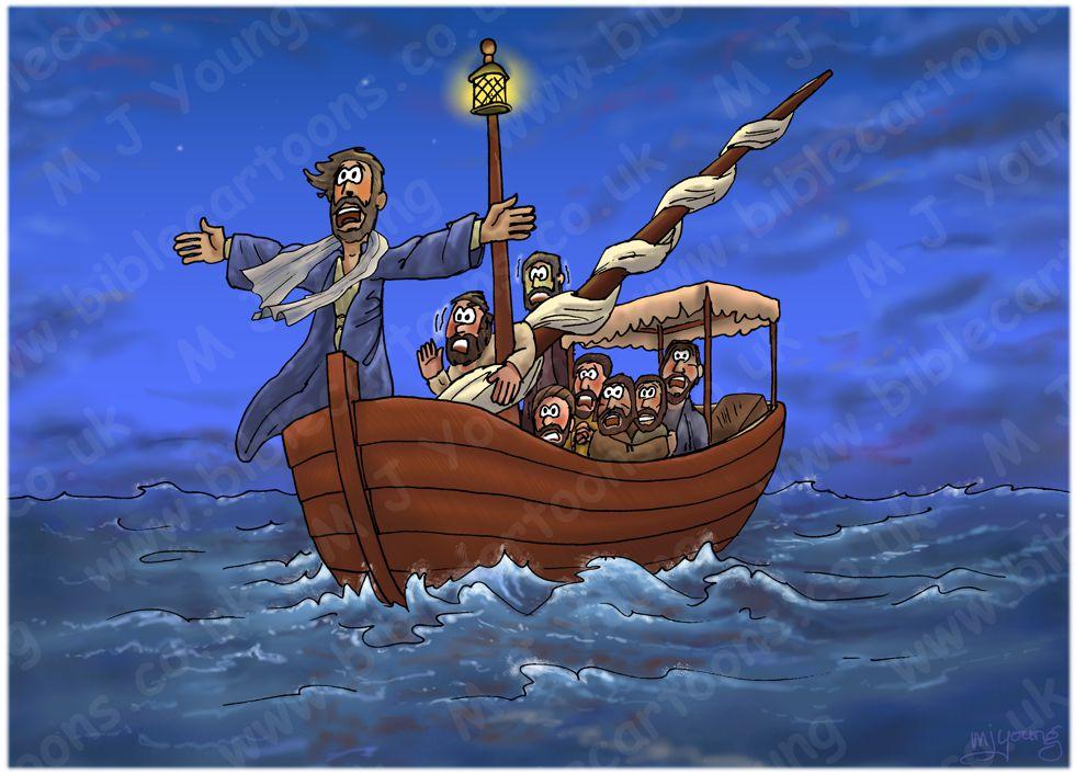 Mark 04 - Jesus calms a storm - Scene 04 - Jesus rebukes storm 980x706px col.jpg
