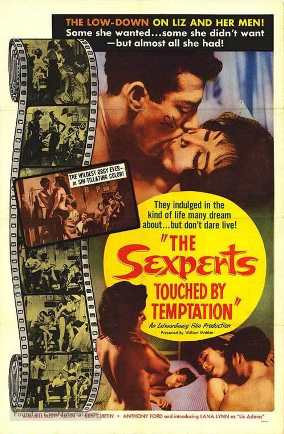 THE SEXPERTS BOX OFFICE USA 1965