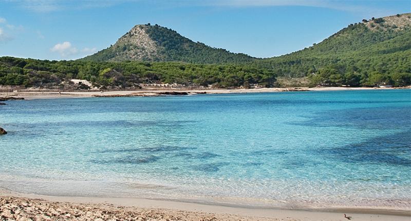 Cala Aguila   -  à l'est de l'île de Majorque