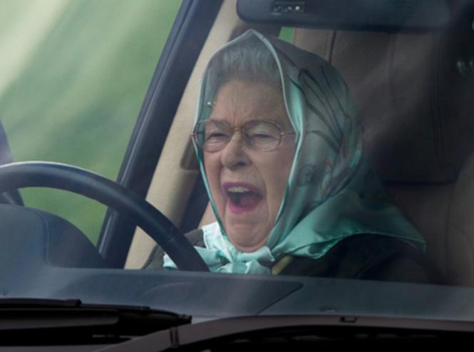 Lilibeth il ne faut pas être fatiguée pour conduire  - lol