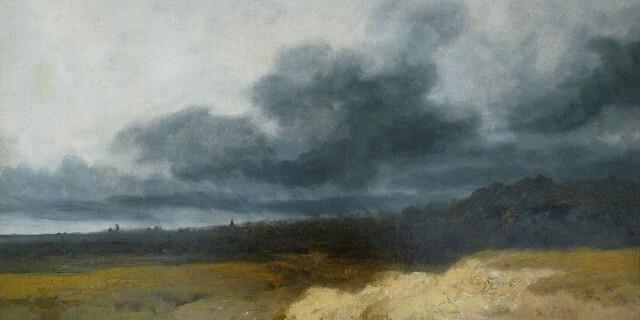 """L'Orage"" de Georges Michel."
