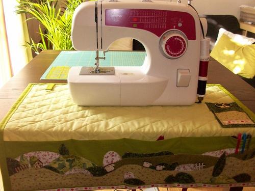 Le tapis de machine à coudre