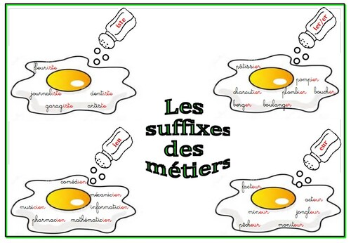 Les suffixes (cahier interactif)