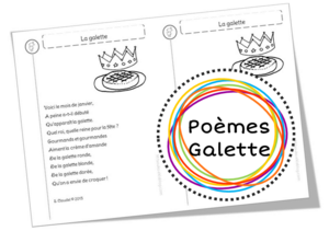 Poèmes sur la galette, les rois et les reines