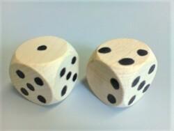 Reconfigurer les dés pour décomposer 5+n et n+1.