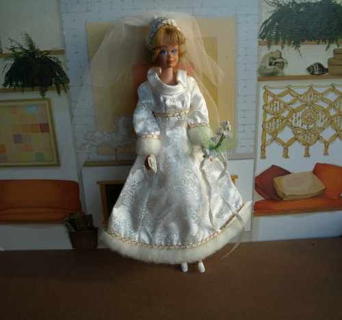 Barbie vintage : Bridal Brocade
