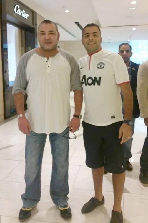 dernière Photo de mohamed 6 aux Emirates