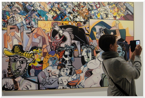 Exposition Picasso Mania    A Compléter