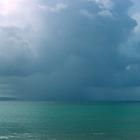 Averse en mer - Photo : Edgar