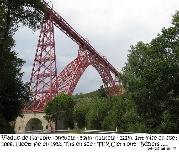 Les voyages de Françoise : Le viaduc de Garabit
