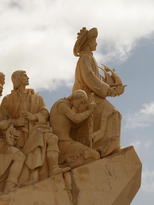 Portugal:  Lisbonne - Monument des Découvertes - de Philippe