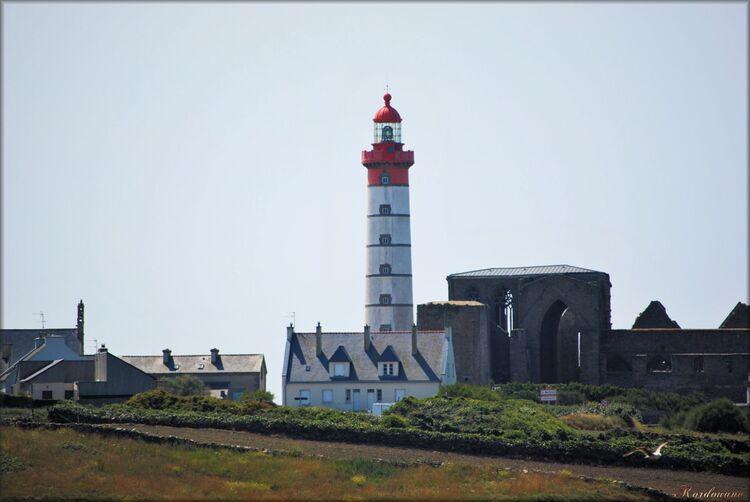 Photo du phare de Saint-Mathieu dans le Finistère